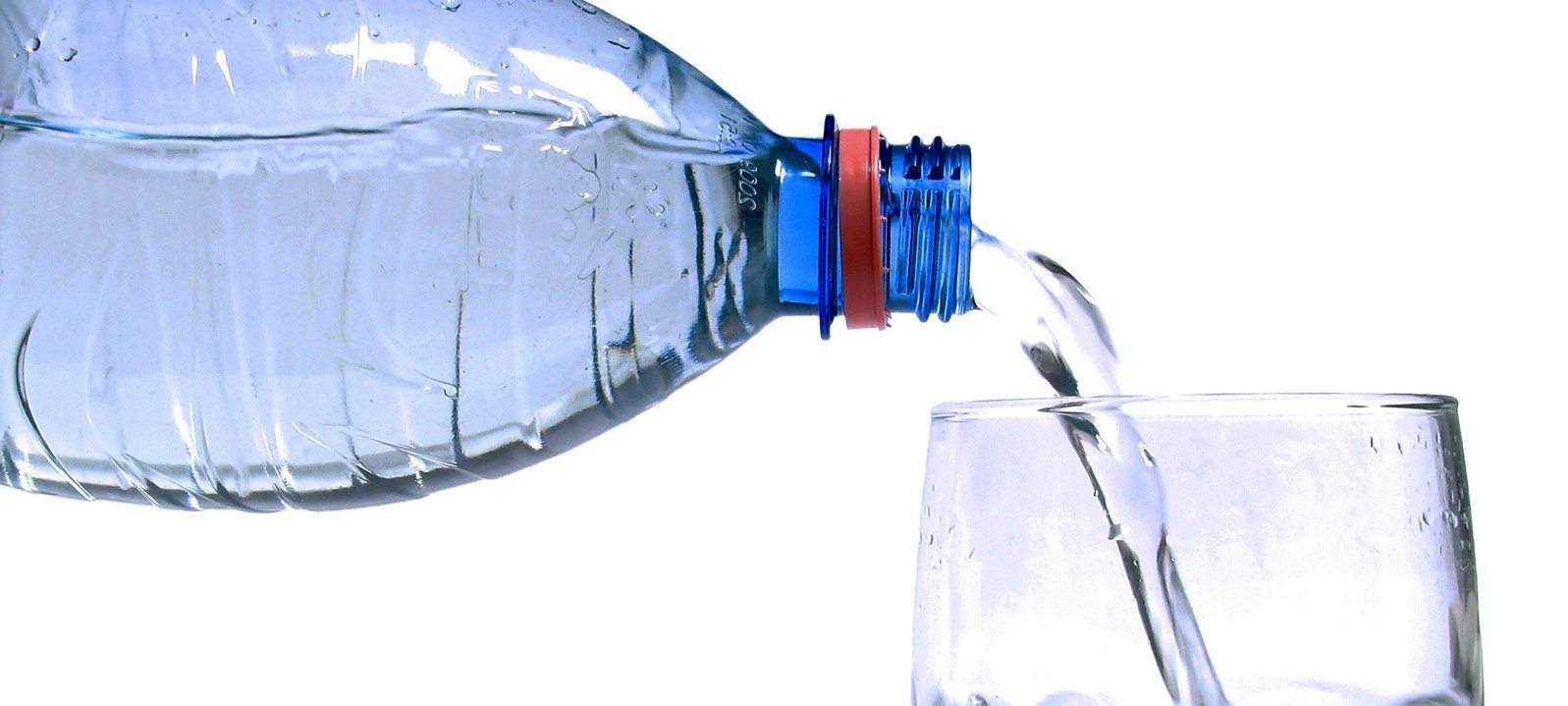 Drinking Water (PET to glass)